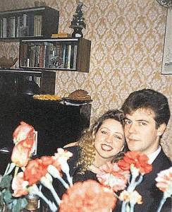 Медведев с девушкой