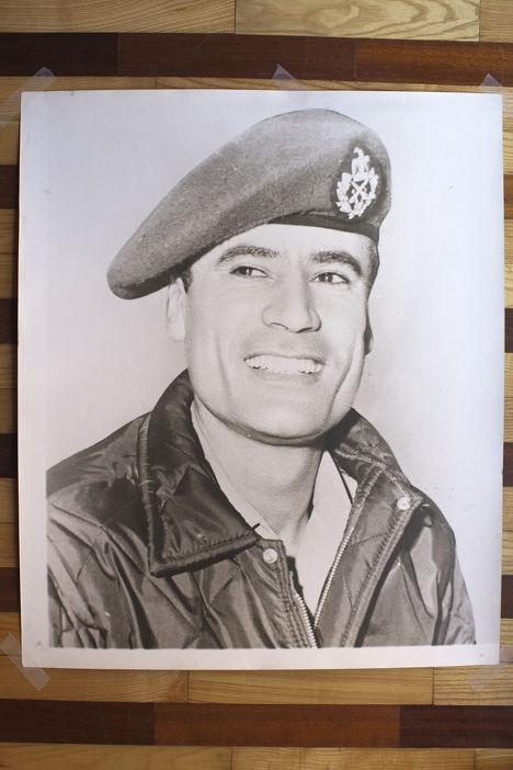 Каддафи в молодые годы