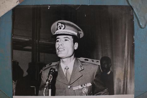 Муаммар каддафи в молодости