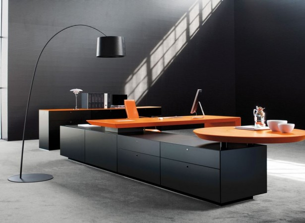 Awesome-Minimalist-Modern-Office-Design-Ideas-Furniture-Black-Interior-design-615x450